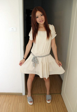 All natural little chinese teen with..