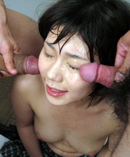 Bukkake asian porn, adolescentes..